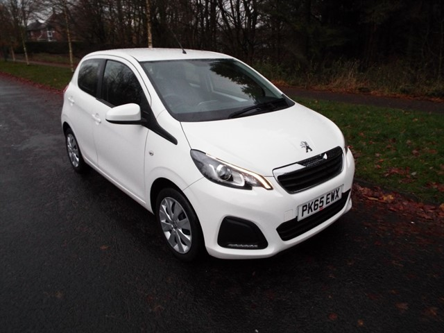 used Peugeot 108 ACTIVE in lancashire
