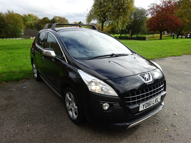 used Peugeot 3008 EXCLUSIVE in lancashire