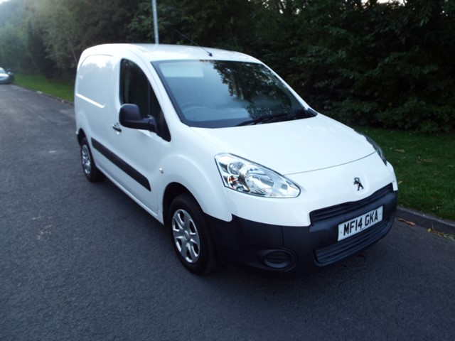 used Peugeot Partner HDI PROFESSIONAL L1 850 in lancashire