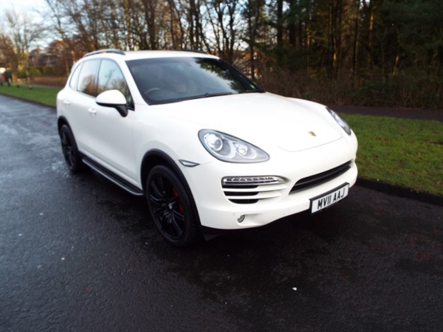 used Porsche Cayenne D V6 TIPTRONIC S in lancashire