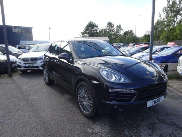 used Porsche Cayenne D V6 TIPTRONIC S in lancashire