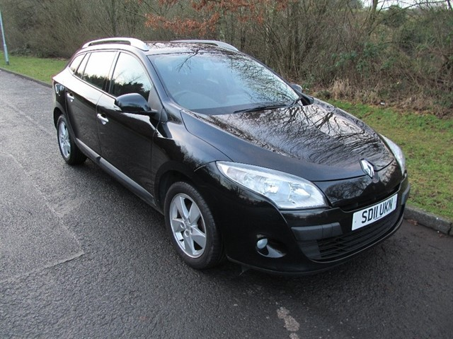 used Renault Megane dCi ECO FAP Dynamique Estate 5dr Manual (Tom Tom) (106 g/km, 110 bhp) in lancashire