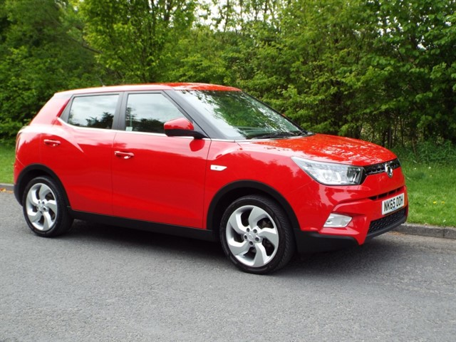 used Ssangyong Tivoli EX in lancashire