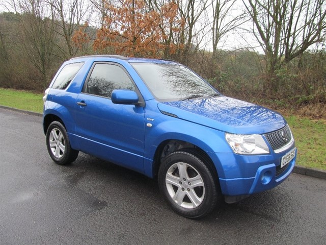 used Suzuki Grand Vitara VVT+ 3dr in lancashire