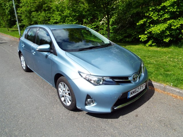 used Toyota Auris VALVEMATIC ICON in lancashire