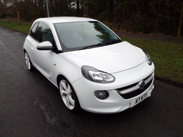 used Vauxhall Adam WHITE EDITION in lancashire