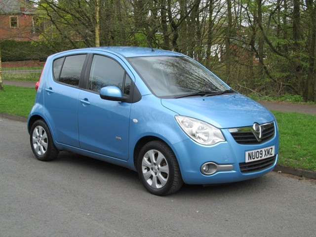 used Vauxhall Agila DESIGN in lancashire