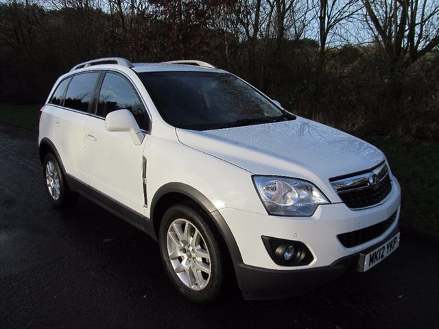 used Vauxhall Antara CDTI 4X4 EXCLUSIV 163PS in lancashire