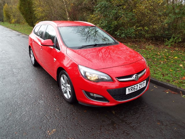 used Vauxhall Astra SRI CDTI S/S in lancashire
