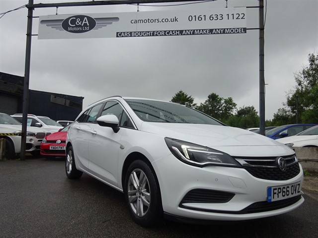 used Vauxhall Astra TECH LINE CDTI in lancashire