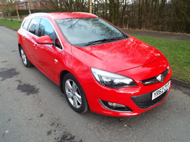 used Vauxhall Astra SRI CDTI S/S in lancashire