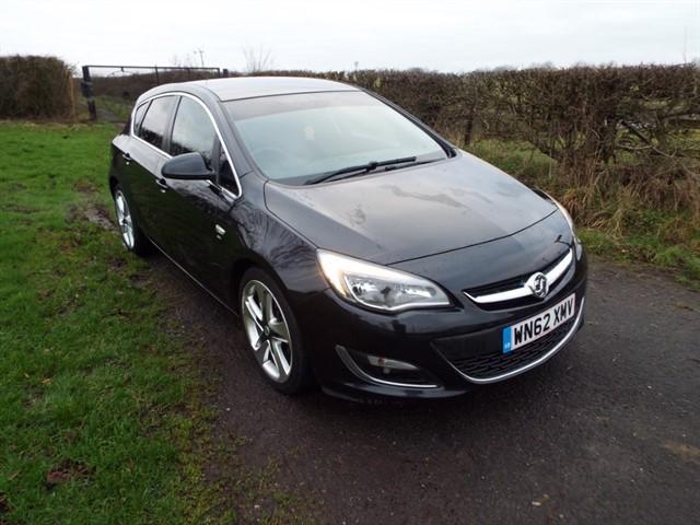 used Vauxhall Astra SRI in lancashire