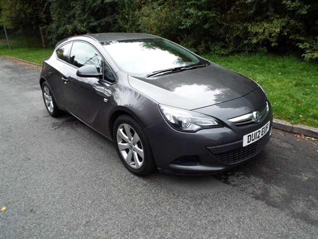 used Vauxhall Astra GTC SPORT in lancashire
