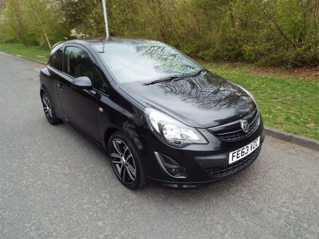 used Vauxhall Corsa BLACK EDITION in lancashire
