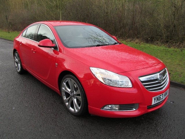 used Vauxhall Insignia CDTi SRi VX-Line 5dr in lancashire
