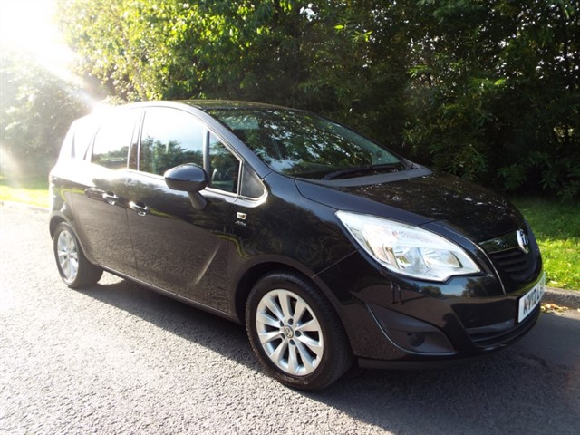 used Vauxhall Meriva ACTIVE in lancashire