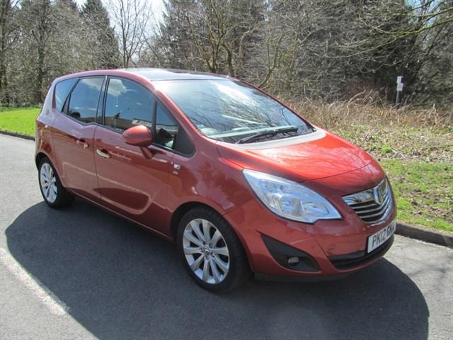 used Vauxhall Meriva SE in lancashire