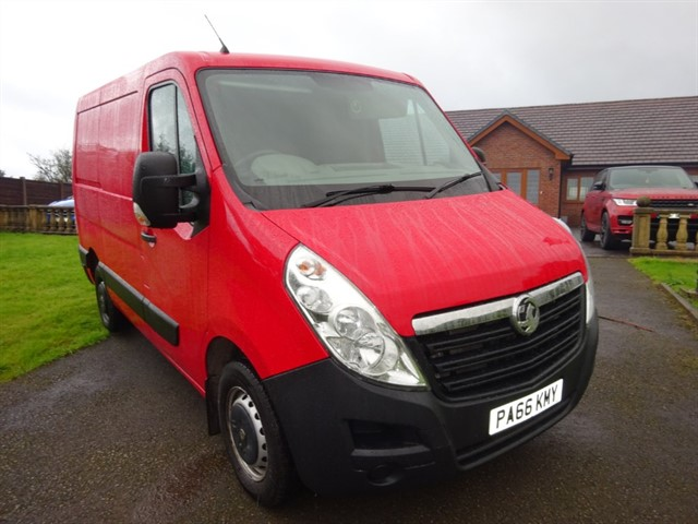 used Vauxhall Movano L1H1 F3500 P/V in lancashire