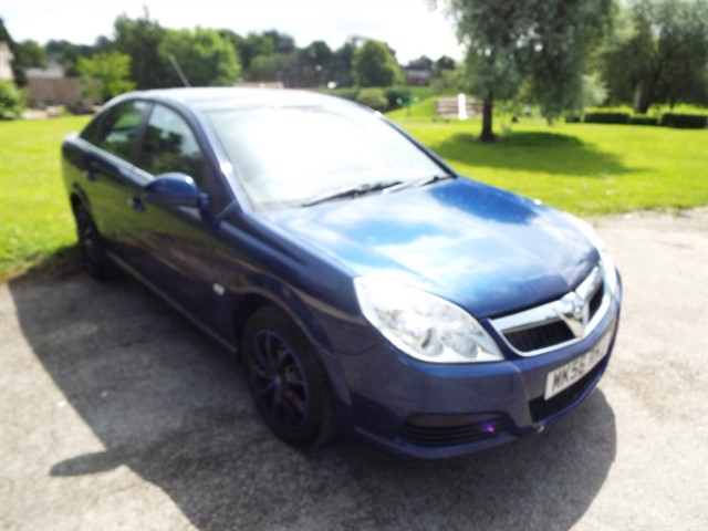 used Vauxhall Vectra VVT EXCLUSIV in lancashire