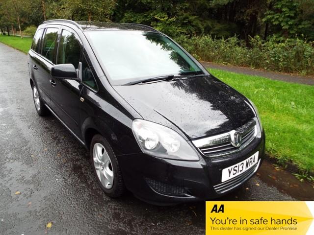 used Vauxhall Zafira EXCLUSIV CDTI ECOFLEX in lancashire