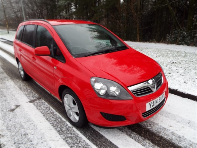 used Vauxhall Zafira EXCLUSIV in lancashire