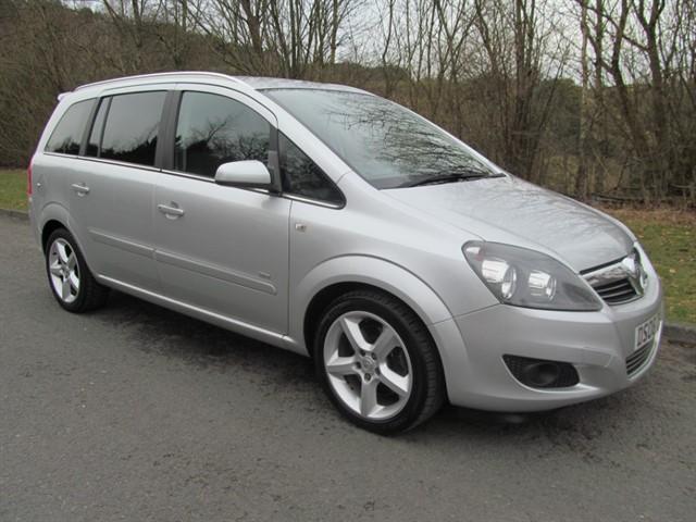 used Vauxhall Zafira SRI CDTI 150 E4 in lancashire