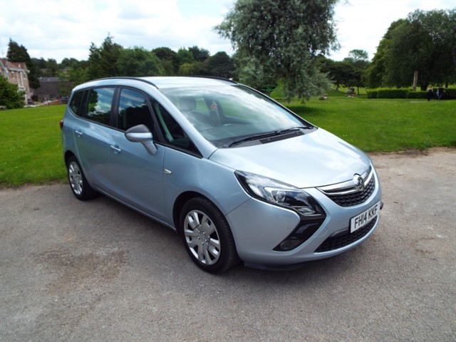 used Vauxhall Zafira Tourer EXCLUSIV CDTI in lancashire