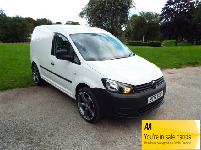 used VW Caddy C20 TDI STARTLINE in lancashire