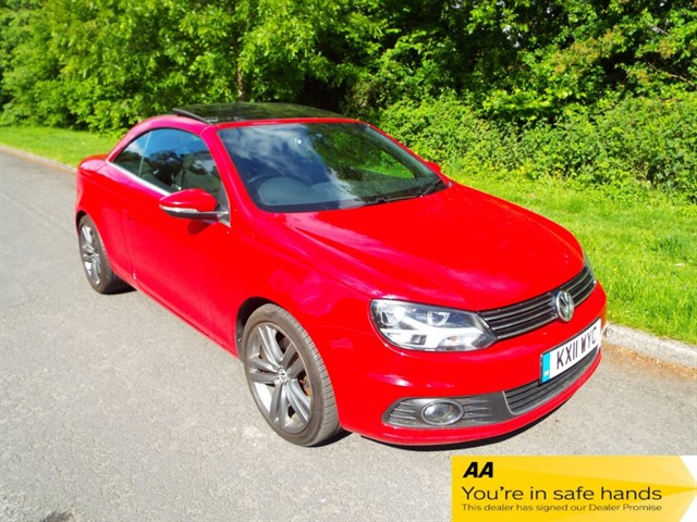 used VW Eos SPORT TDI BLUEMOTION TECHNOLOGY in lancashire
