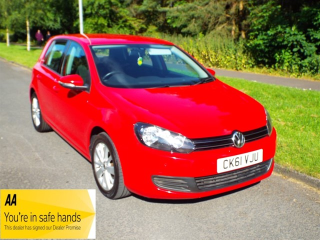 used VW Golf MATCH TDI in lancashire