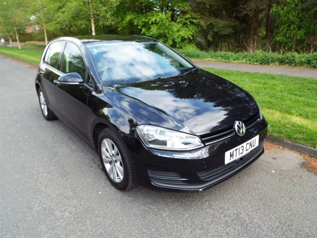 used VW Golf SE TSI BLUEMOTION TECHNOLOGY in lancashire