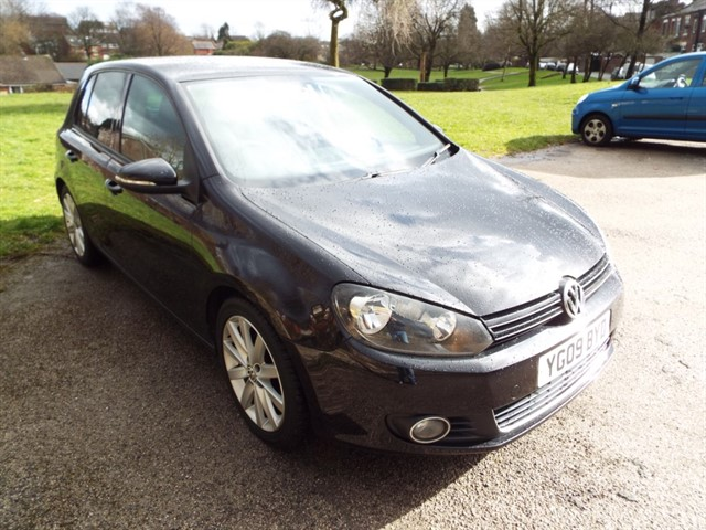 used VW Golf GT TDI in lancashire