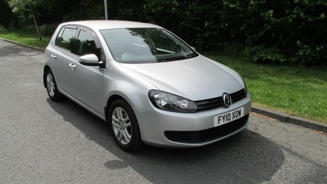 used VW Golf SE TDI in lancashire