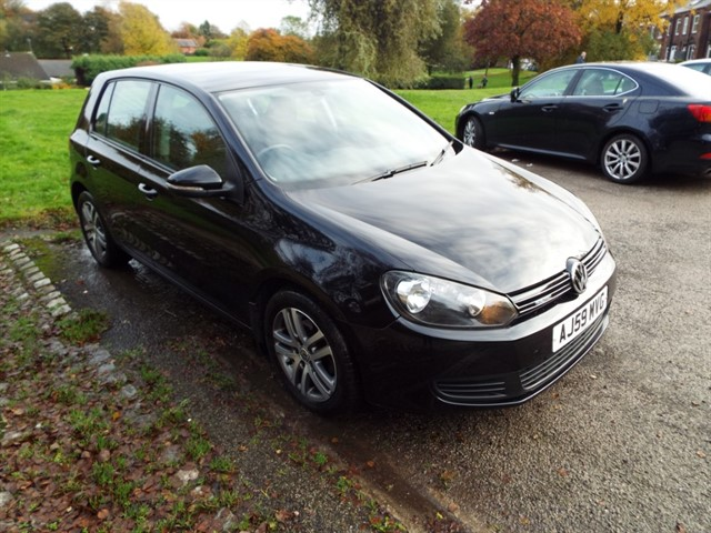 used VW Golf SE TDI in lancashire