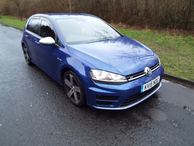 used VW Golf R DSG in lancashire