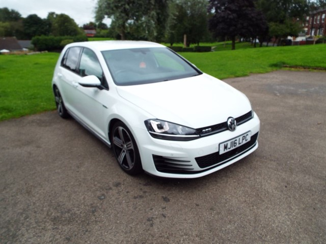 used VW Golf GTD DSG in lancashire
