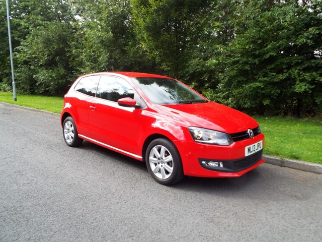 used VW Polo MATCH EDITION in lancashire
