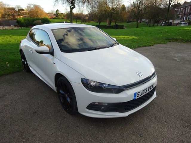 used VW Scirocco R LINE TDI BLUEMOTION TECHNOLOGY in lancashire