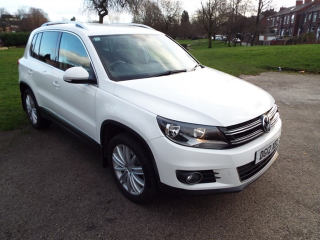 used VW Tiguan SPORT TDI 4MOTION in lancashire