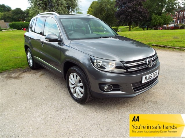 used VW Tiguan MATCH TDI BLUEMOTION TECHNOLOGY 4MOTION in lancashire