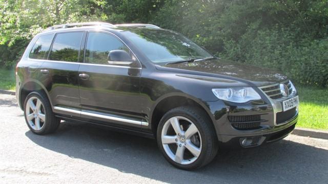 used VW Touareg V6 ALTITUDE TDI in lancashire