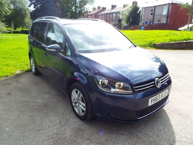 used VW Touran SE TDI BLUEMOTION TECHNOLOGY in lancashire