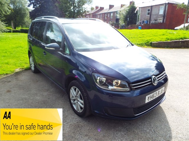 used VW Touran SE TDI BLUEMOTION TECHNOLOGY in lancashire