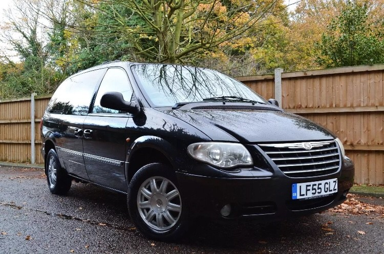 used Chrysler Voyager CRD GRAND LIMITED XS in colchester