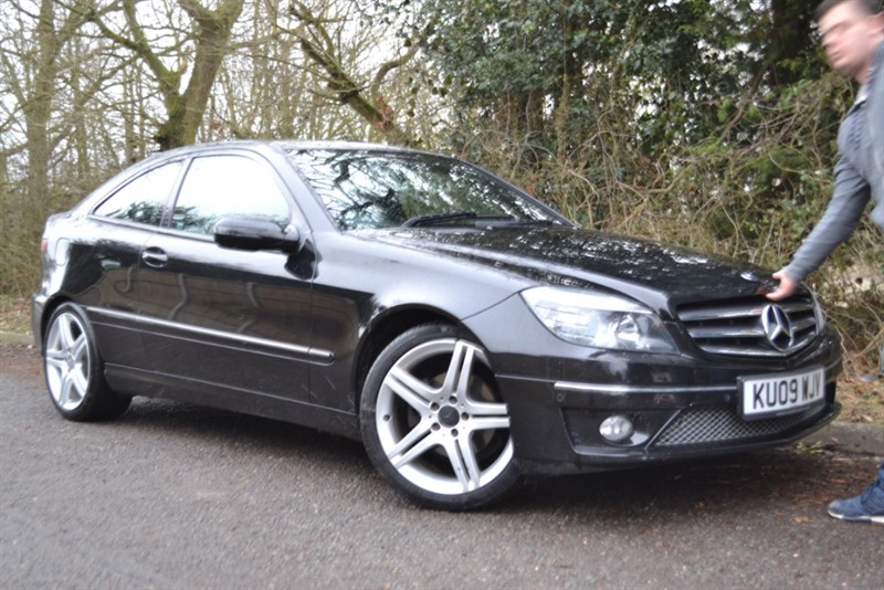 used Mercedes CLC220 CDI SPORT in colchester