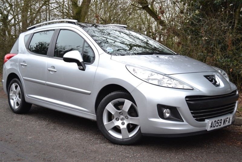 used Peugeot 207 SW SPORT in colchester