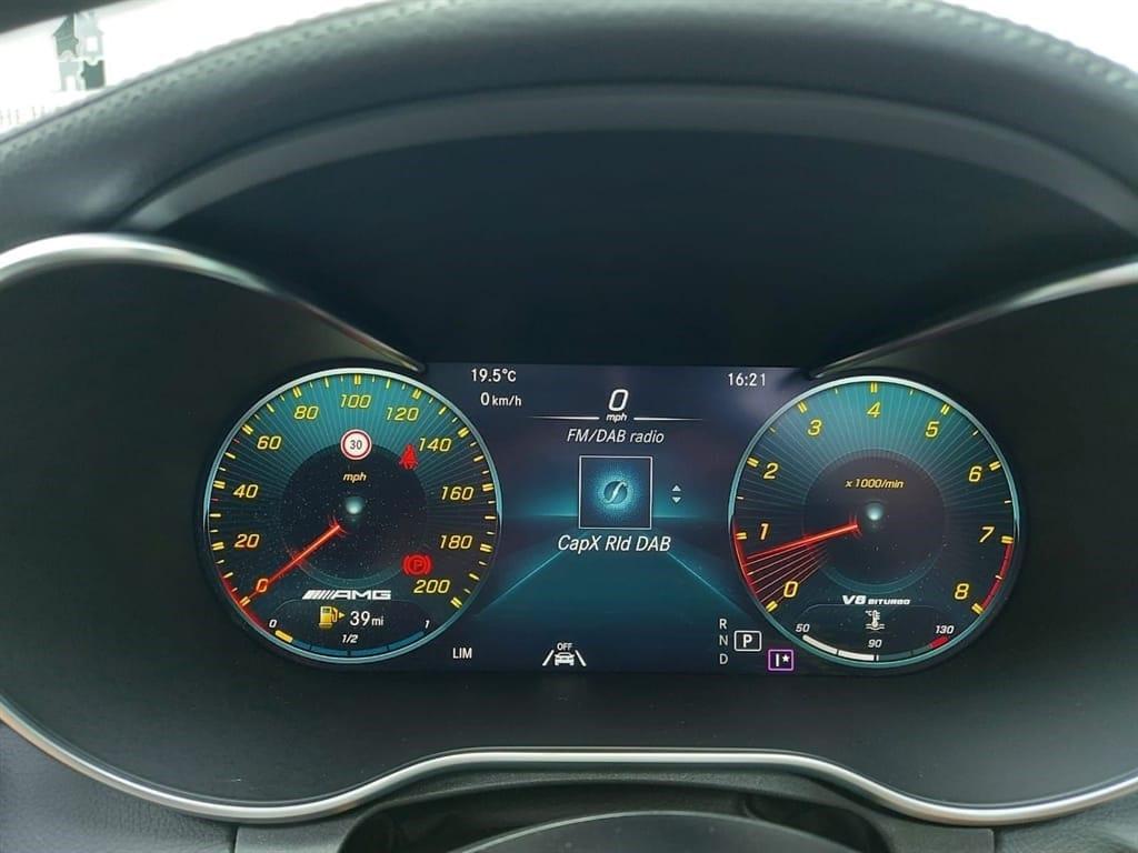 Mercedes C63