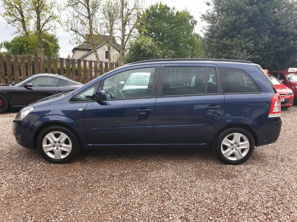 Vauxhall Zafira | Mark Berwick Motors Ltd | Perth and Kinross