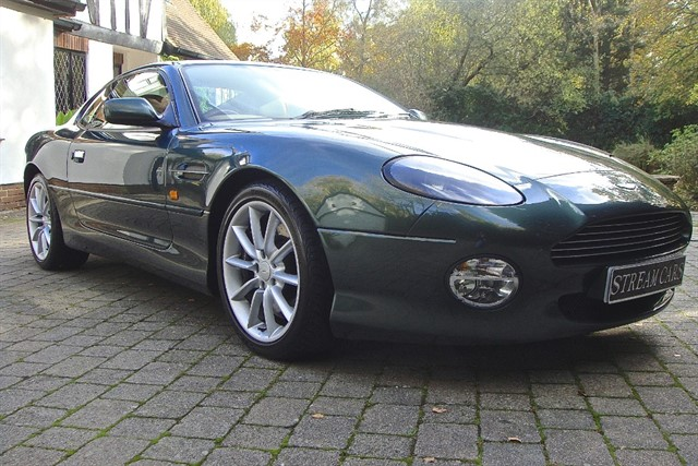Aston Martin DB7 in Bagshot, Surrey