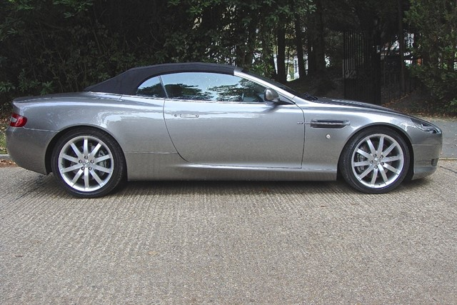 Aston Martin DB9 in Bagshot, Surrey